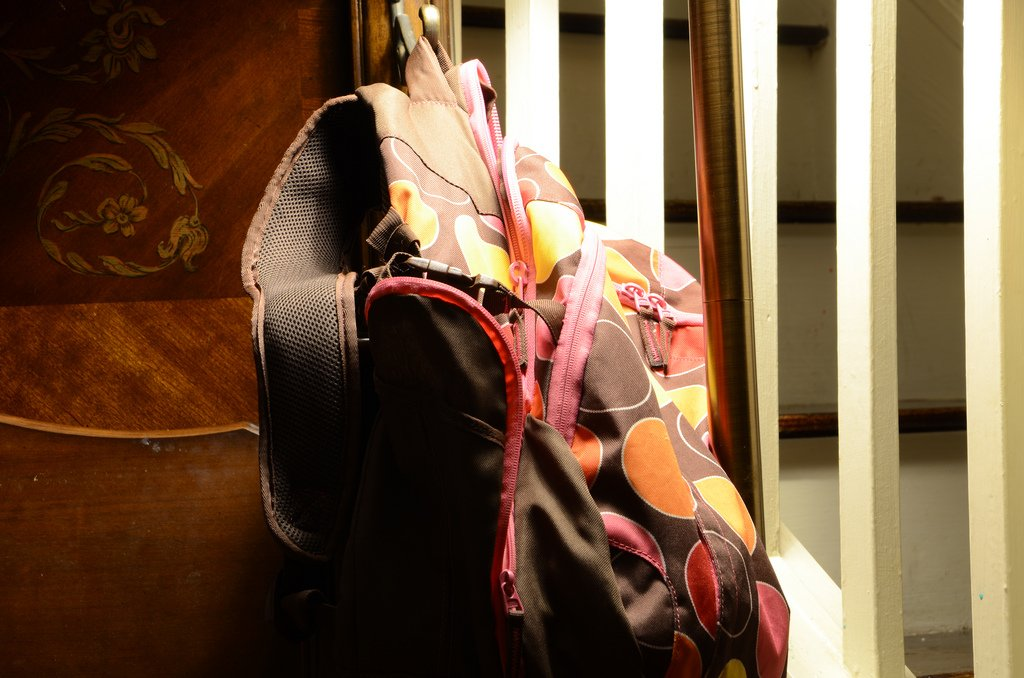 Backpack On The Staircase - Teen Rehab