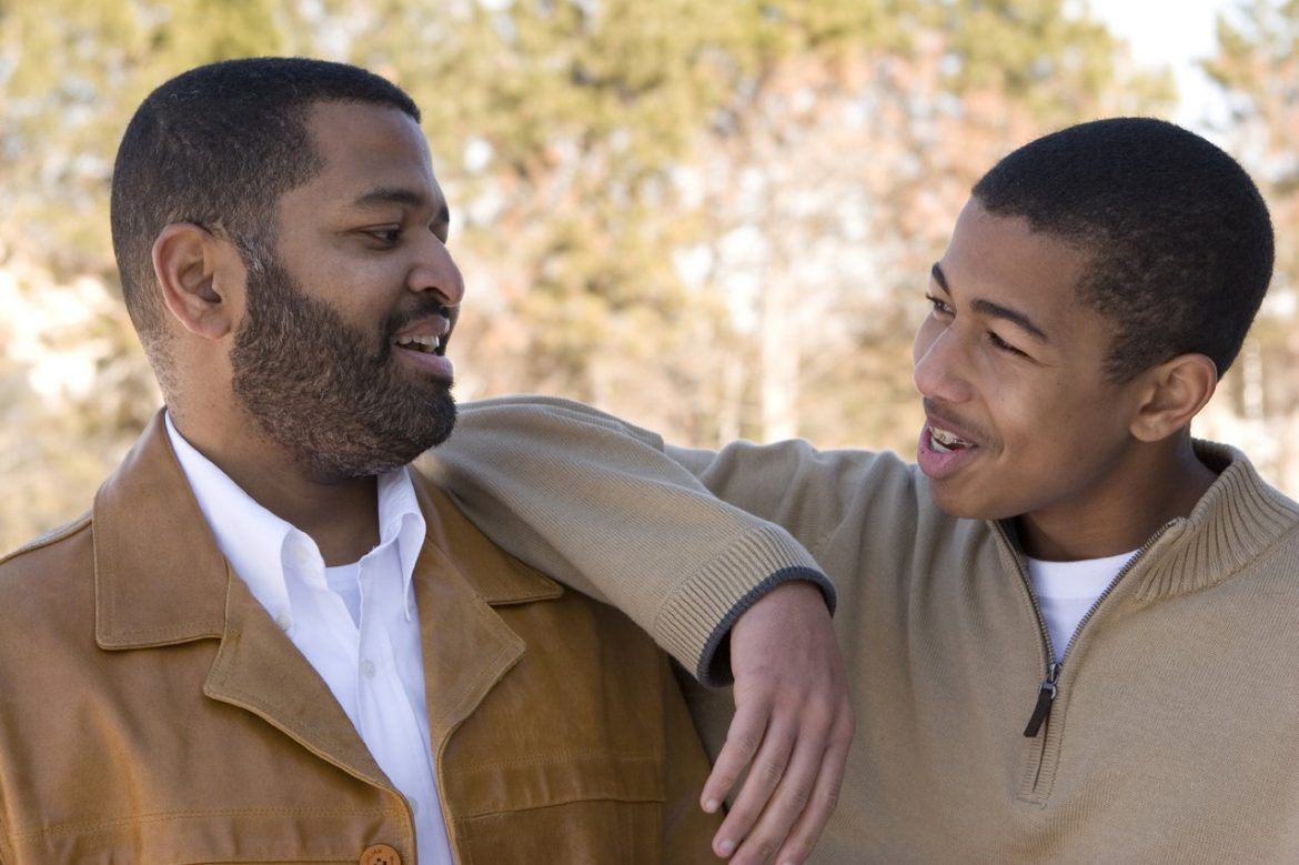 Father Son Laughing Together - Teen Rehab
