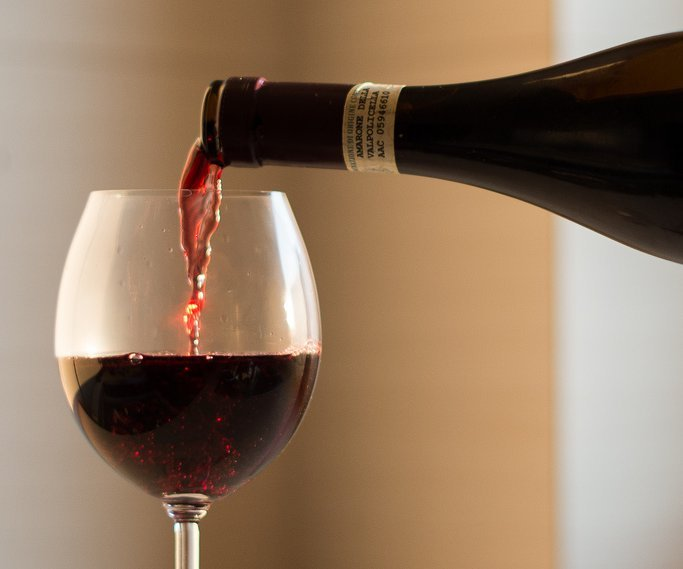Wine Pouring into Glass - Teen Rehab