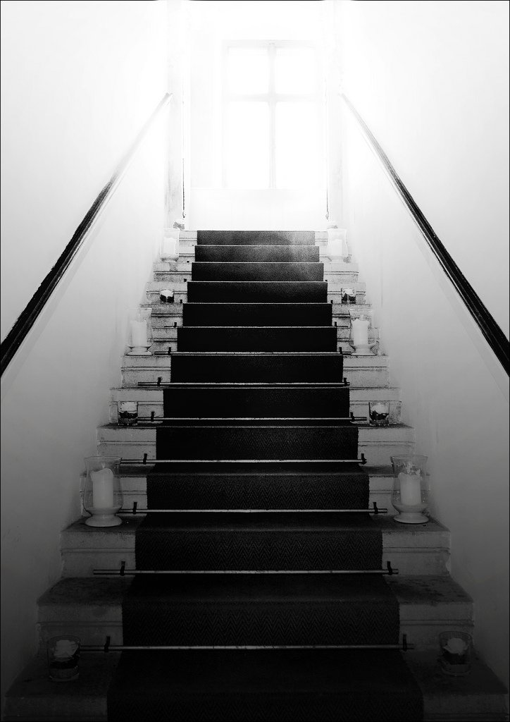 stairs-candles