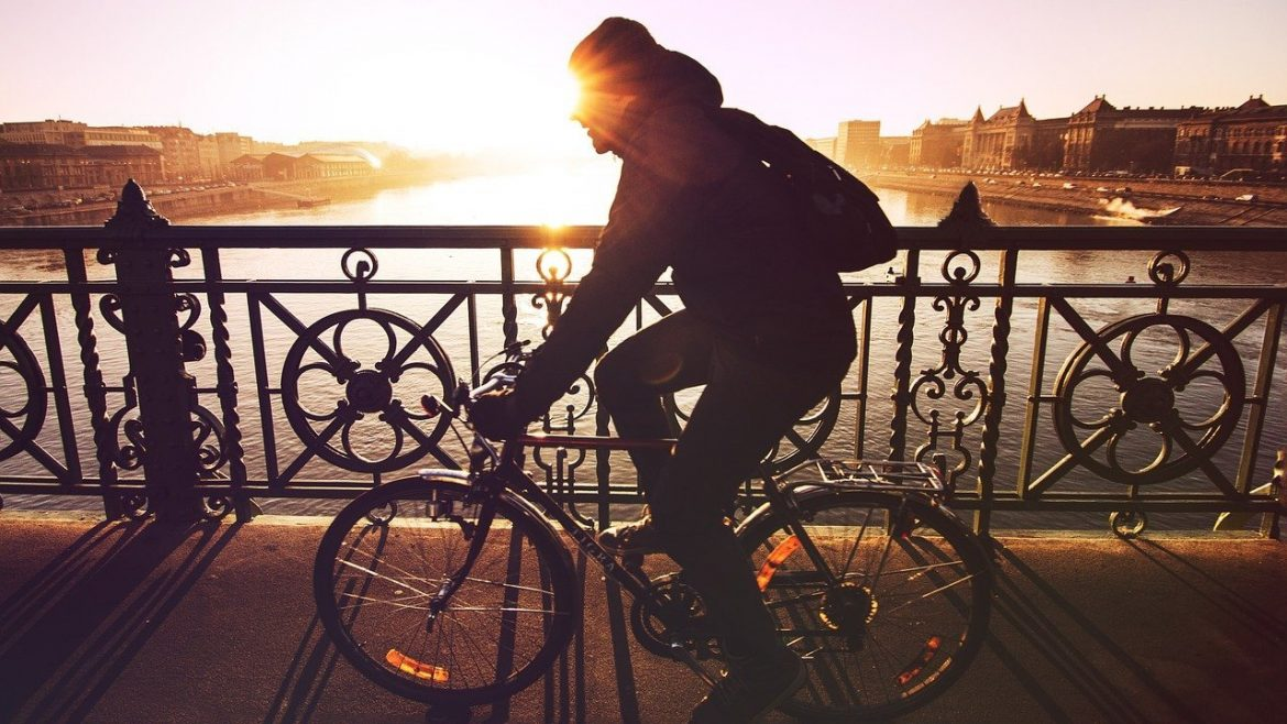 Boy Riding Bike Sunset - Teen Rehab