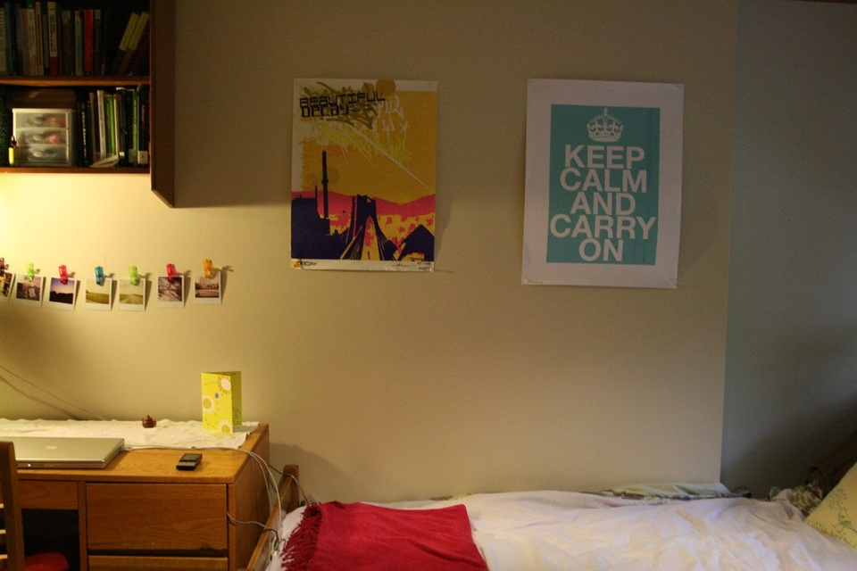 Dorm Room Wall - Teen Rehab