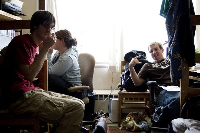 Hanging Out In Dorm Room - Teen Rehab