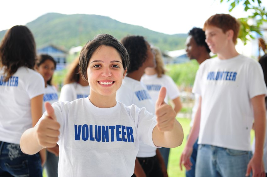 Happy Volunteer - Teen Rehab