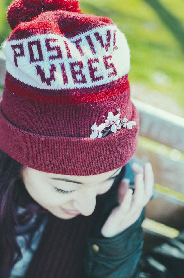 Positive Vibes Hat - Teen Rehab