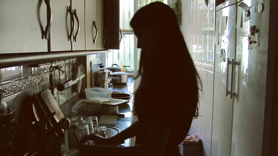 Teenage Girl In Kitchen - Teen Rehab