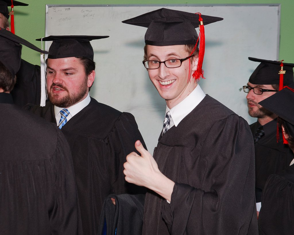Teenage Boy Thumbs Up Graduation - Teen Rehab