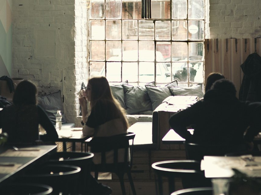 Teenagers Sitting In Cafe - Teen Rehab
