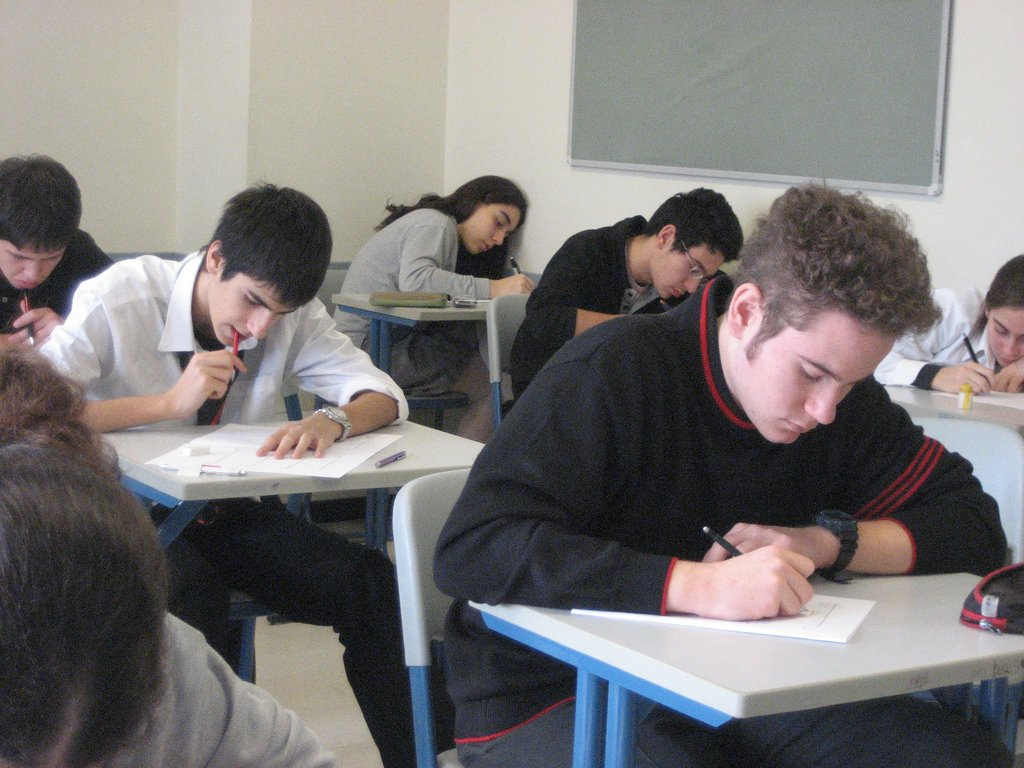 Teenagers Taking Exam - Teen Rehab