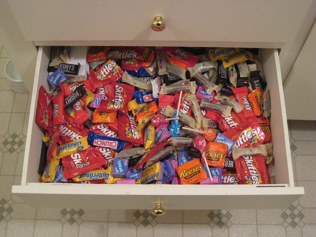 Drawer Full With Candy - Teen Rehab