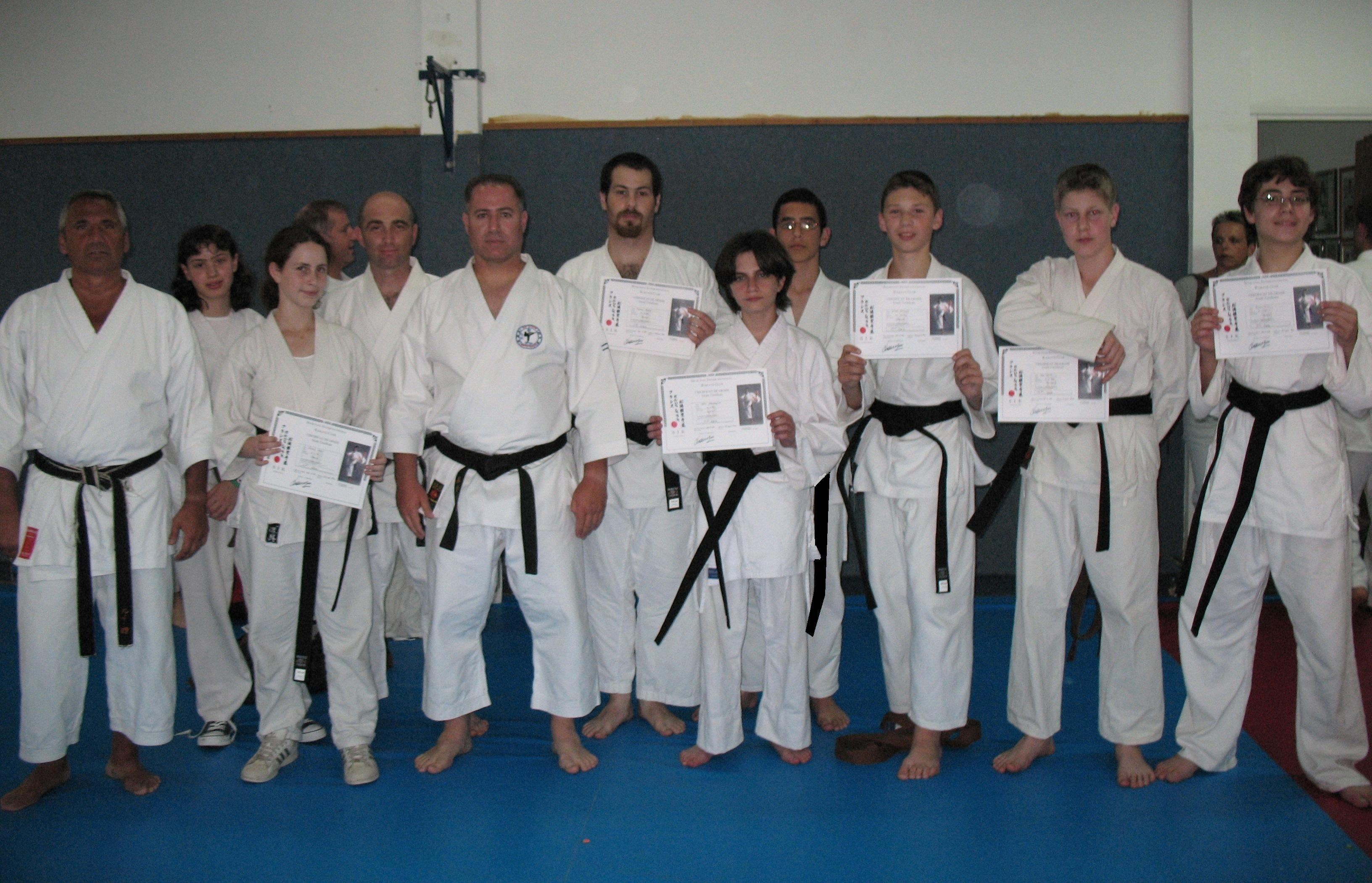 Martial Arts Group Certificate - Teen Rehab