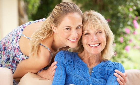 Mother Daughter Hugging Posing - Teen Rehab