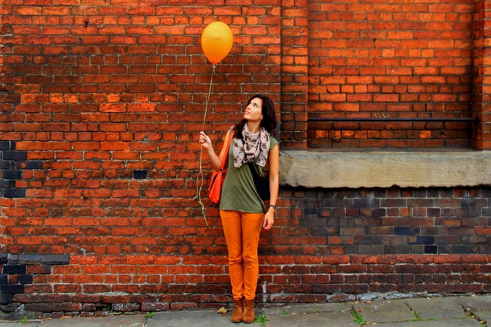Woman With Balloon - Teen Rehab