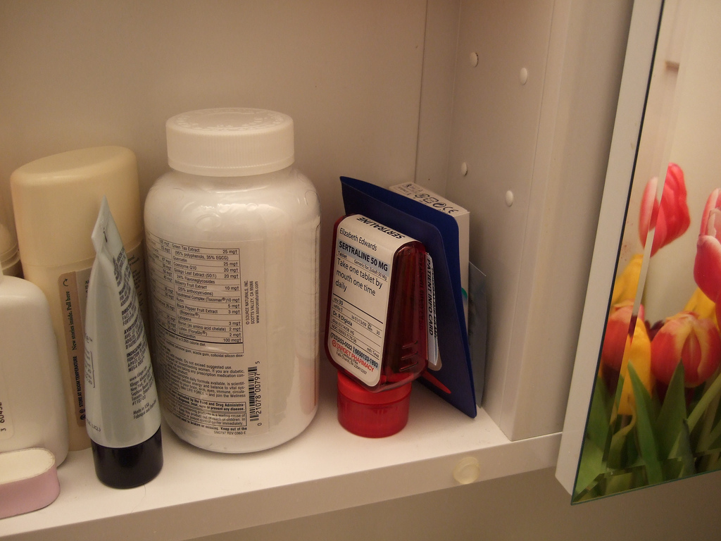 prescription drugs medicine cabinet