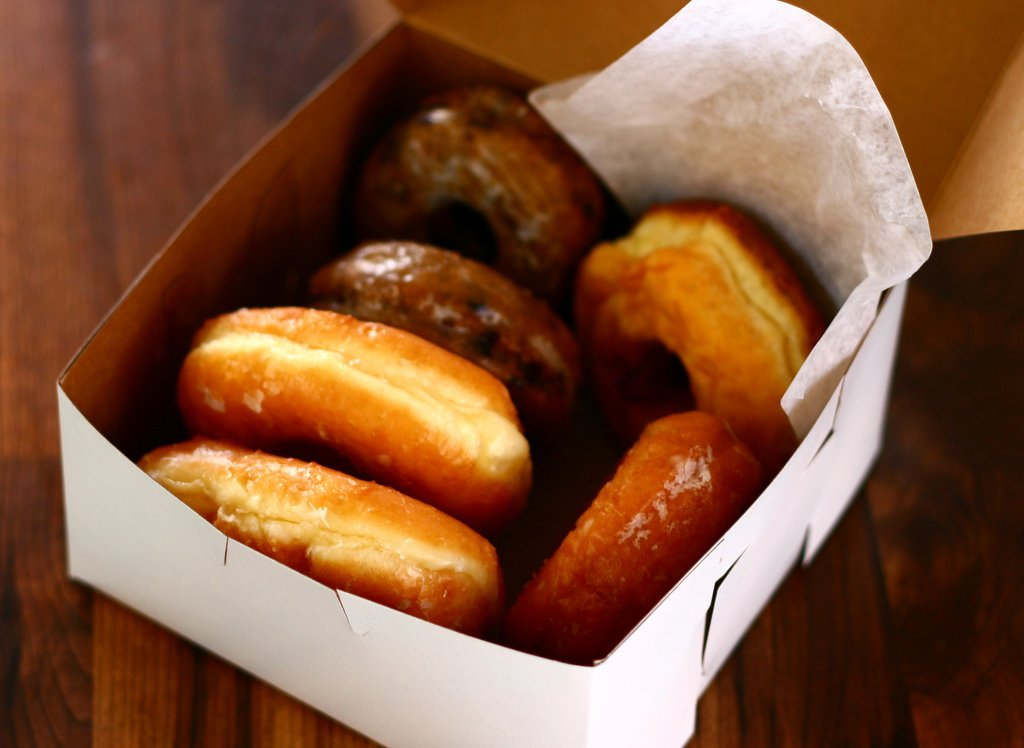 donuts baked goods food