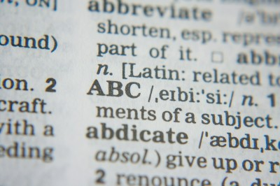 dictionary words definition
