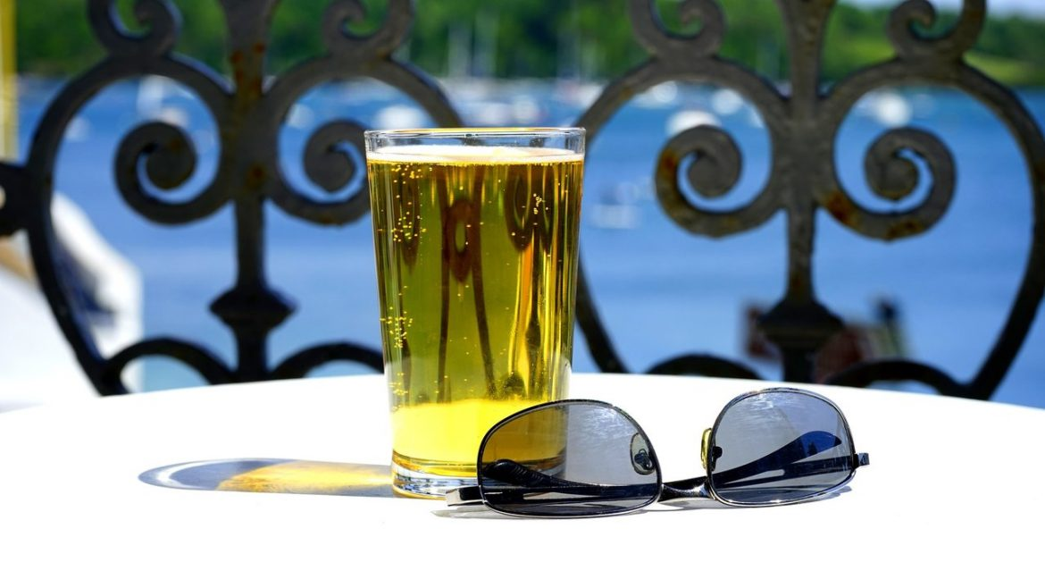 alcohol beer drink sunglasses