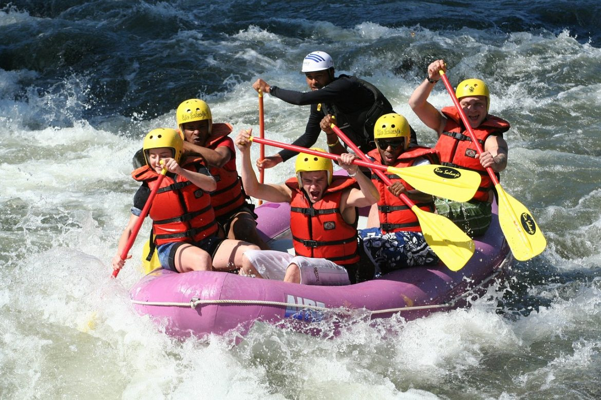 Teen Rehab - benefits of exercise - rafting